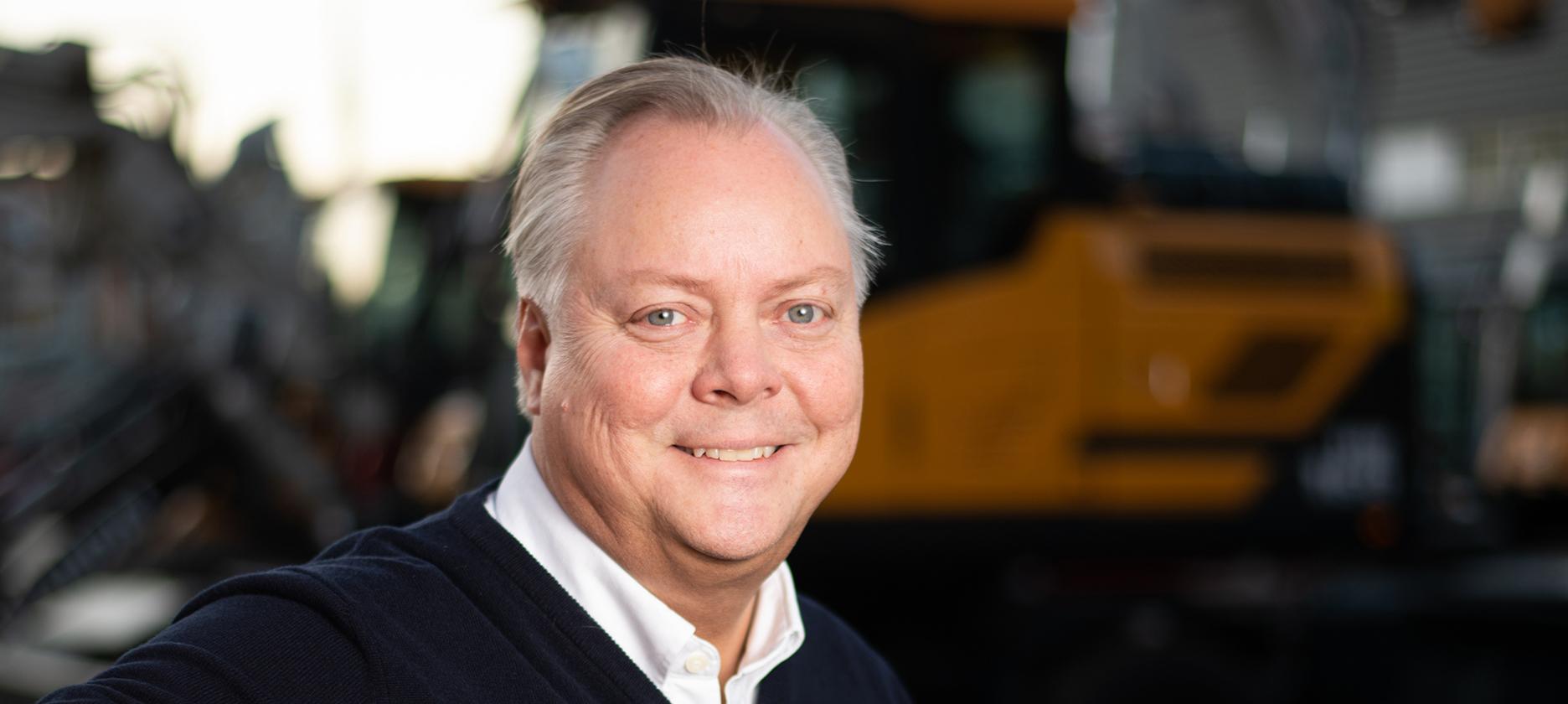 Lennart Edling, ny VD på EMS